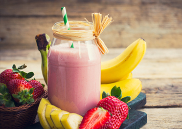 Banana Berry Smoothie
